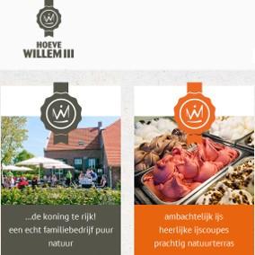 Website Hoeve Willem III