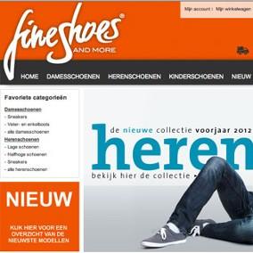 FineShoes.nl webshop & internetmarketing