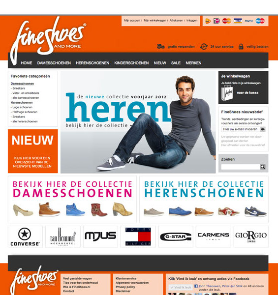 FineShoes webshop