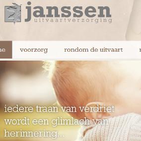 Website Janssen Uitvaartverzorging