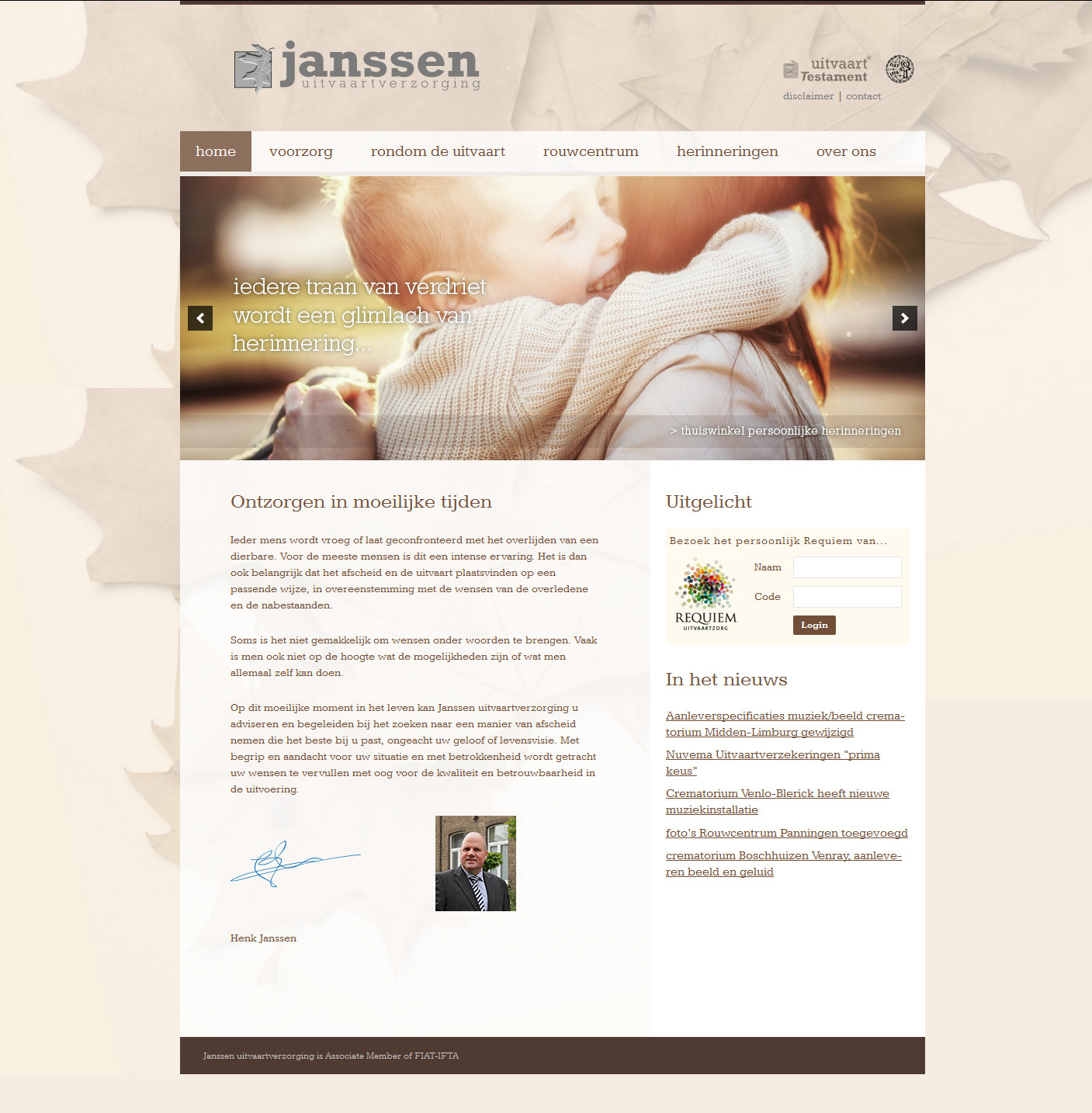Janssenuitvaart.nl