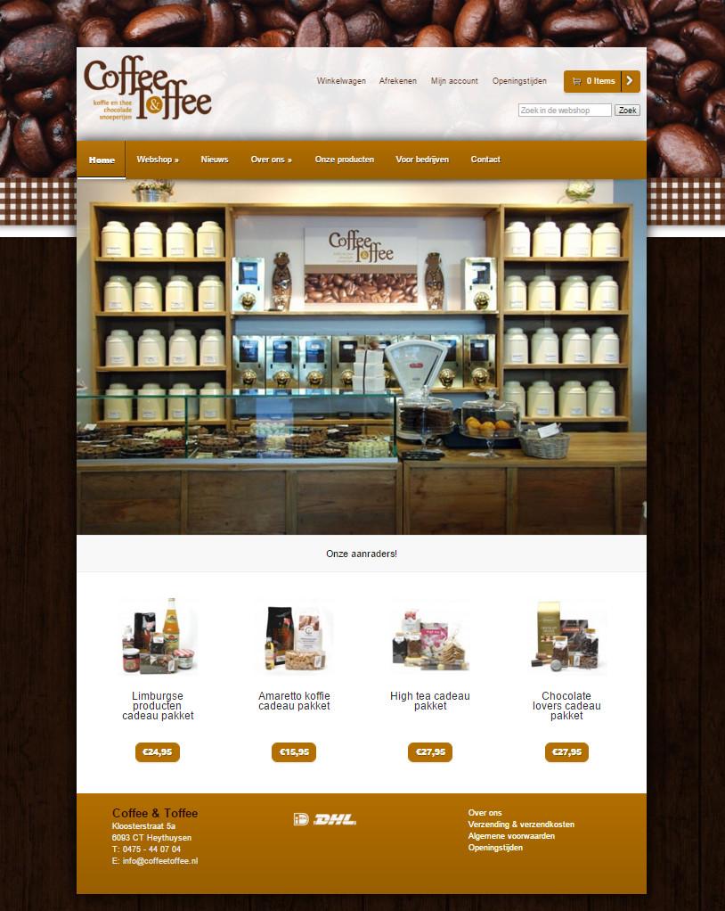Webshop Coffee & Toffee